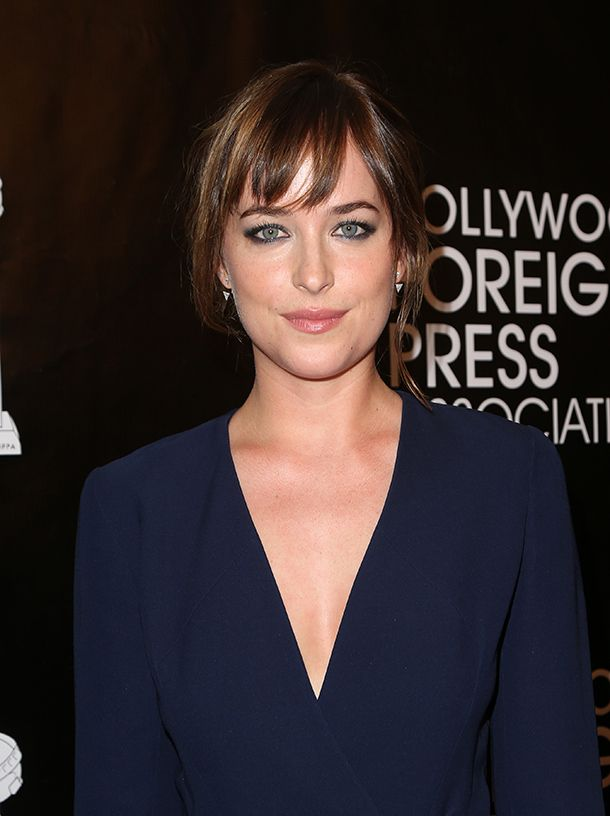Dakota Johnson's Hairstylist Shares His Trick for Perfect Bangs | Daily Makeover