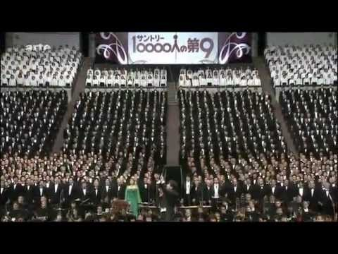 "Happy New Year: Japanese choir singing ""Ode To Joy"""