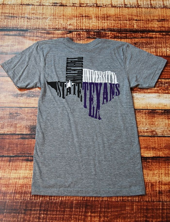 Don't you just LOVE Tarleton State University? Show your love for this awesome school in this great new t-shirt! Go TSU Texans!