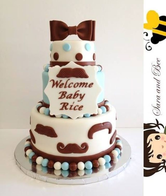 babies forward mustache baby shower cake mustache baby shower cakes