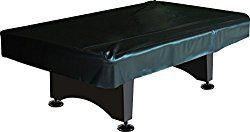 Imperial Billiard/Pool Table Fitted Naugahyde Cover, 7-Foot Table, Black