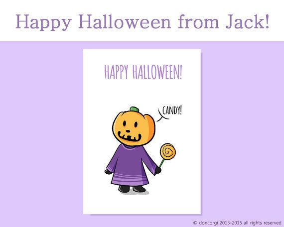 101 best etsy printable cards and icon sets images on pinterest jack pumpkin head happy halloween card printable card greetings card halloween cards instant download animal crossingprintable m4hsunfo Images