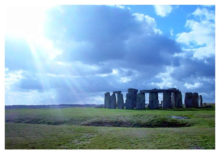 Stonehenge in the English county of Wiltshire. Have only been in the London airport, would love to see all of England!