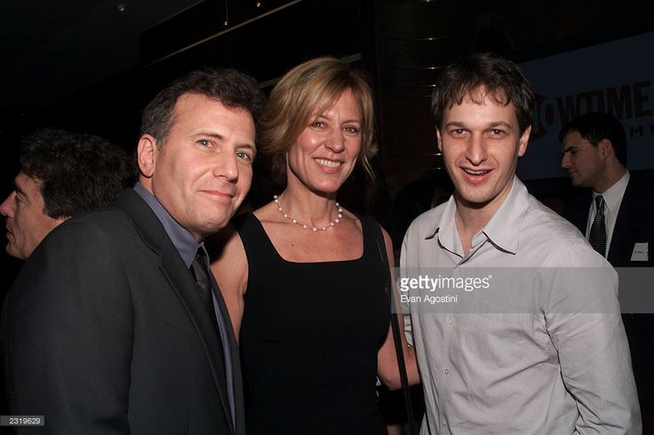 Paul Reiser, Christine Lahti and Josh Charles at Showtime's Annual Programing Preview Luncheon at the Blue Fin / W Hotel in New York City. March 13, 2002. Photo: Evan Agostini/Getty Images