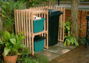 recycling bin storage