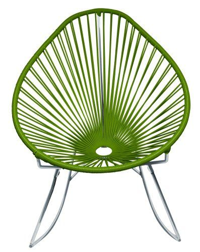 Innit Designs Acapulco Rocking Chair, Chrome Frame with Olive Weave Innit Designs http://www.amazon.com/dp/B00BRH9FC4/ref=cm_sw_r_pi_dp_fo4bub0WZC4WH