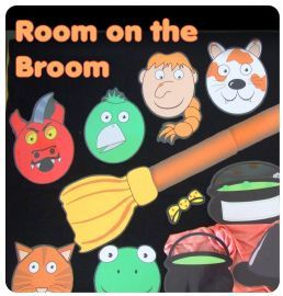 Story Resources - Primary Resources - Room on the Broom | WoWHoW
