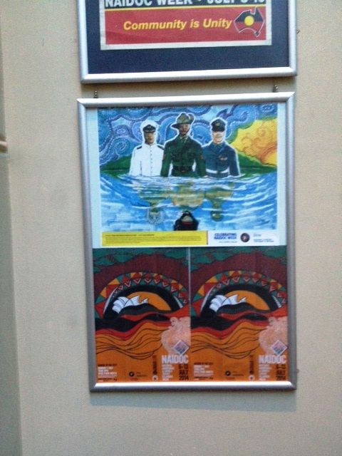 NAIDOC Week posters from the Cmttee and Sydney City COuncil