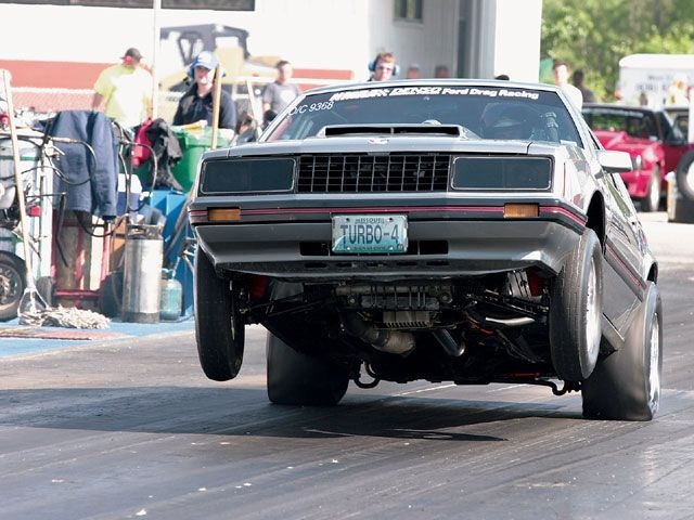1979 Mustang Turbo Four-Banger - Fantastic Four: Who Needs A V-8 When Jon Huber Runs Low Nines With A Turbocharged Four-Cylinder