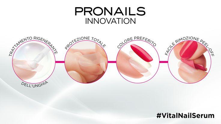 Il Vital Nail Serum, una vera e propria terapia di oltre 2 settimane! Le unghie risulteranno effettivamente riparate, più sane e più forti di prima! #VitalNailSerum #ProNailsItalia #sopolish #protectandpeel