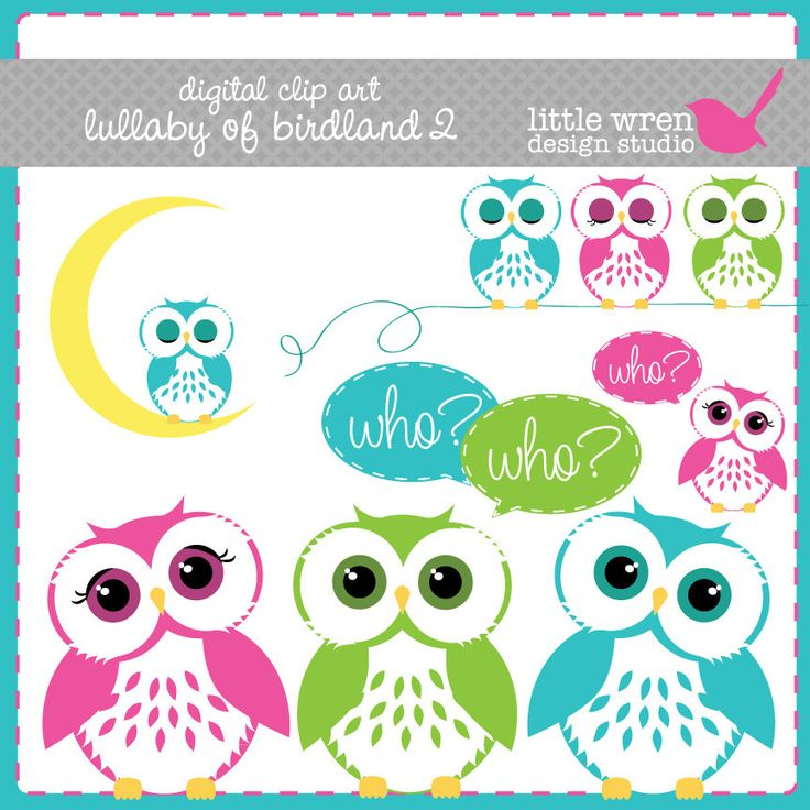 Whimsical Owl Clip Art Free Baby Owl Clipart Wallpapers