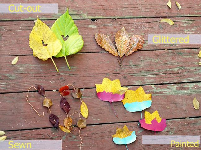 A great addition for those doing botany or just wanting to take advantage of all the falling leaves! 10 Fall Leaf Crafts To Do With Kids
