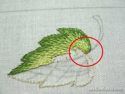 Long and Short Stitch Shading Lessons on needlenthread.com