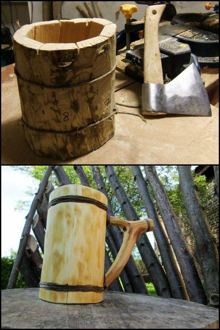 Drink Like a Viking With This DIY Bushcraft Beer Mug!