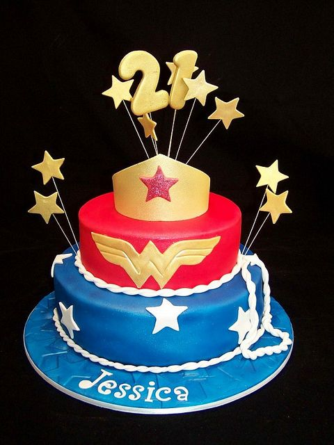 Superhero Cakes for Girls | Recent Photos The Commons Getty Collection Galleries World Map App ...