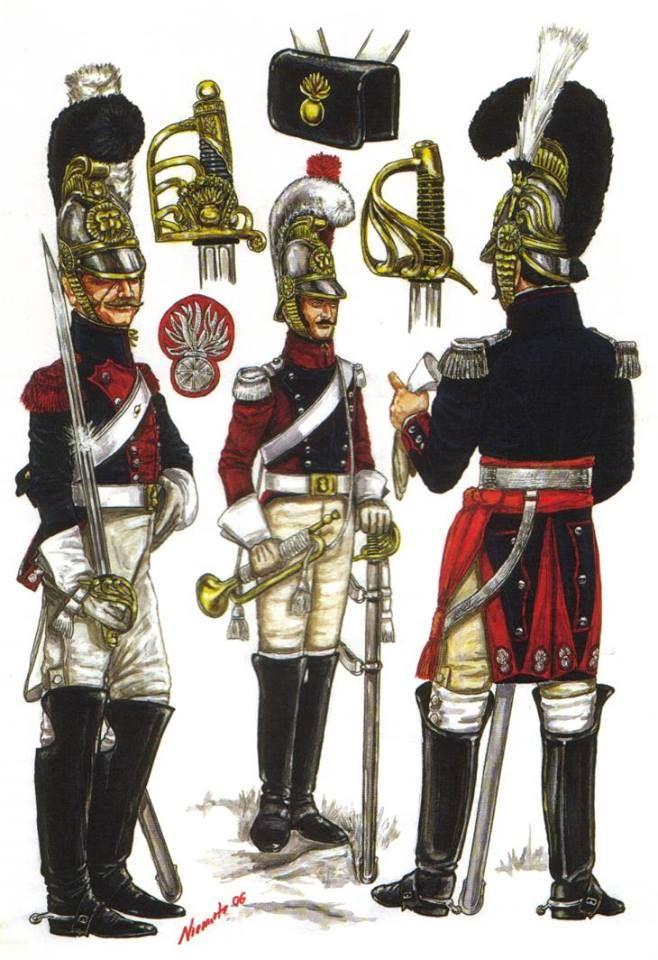 Belgian carabiners , 1815