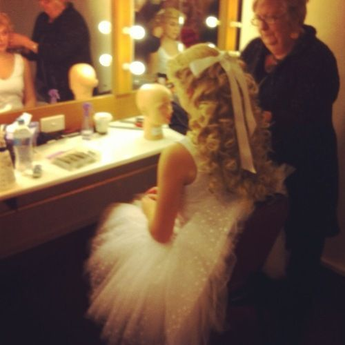 """""""The Phantom of the Opera"""" - Meg Giry's dressing room."""