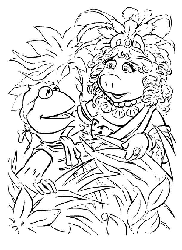 181 best Muppet Coloring Pages, Line Drawings and Flash images on ...