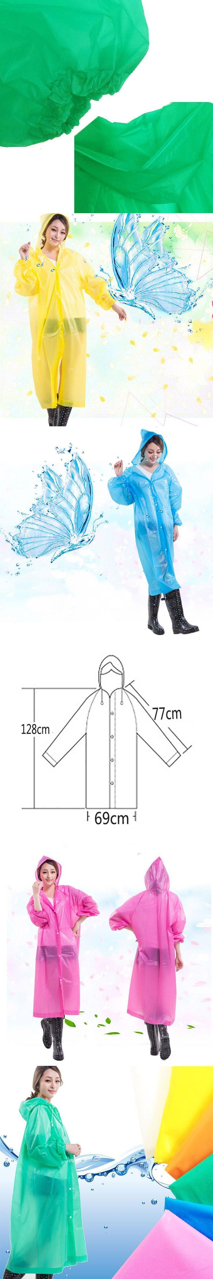 Women Raincoat Rain Cover Waterproof Transparent Raincoats Cloak Poncho Impermeable Cycling Rain Coat Rainwear Capa de Chuva