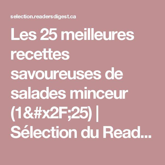 Les 25 meilleures recettes savoureuses de salades minceur (1/25) | Sélection du Reader's Digest