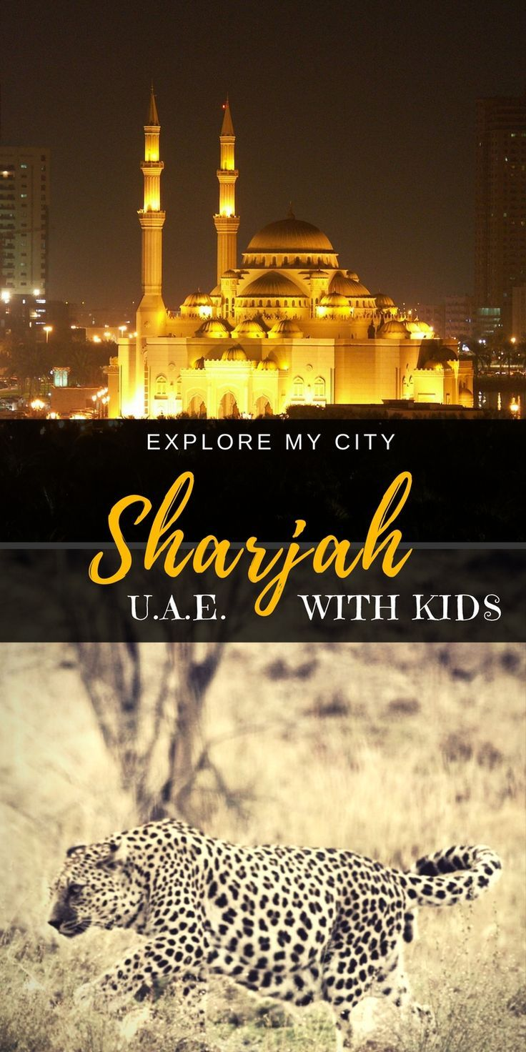 The lesser-known emirate of Sharjah is often overlooked by visitors to the UAE.  Guest Blogger Amruta takes us through the fabulous and surprising highlights of the UAE's 3rd largest city | Explore My City of Our Globetrotters #familytravel #uae #exploremycity