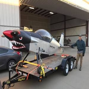 Did you see this Panther on the freeway? http://westfwchatter.com/sean-sullivan-fort-worth-pilot-and-panther-builder/