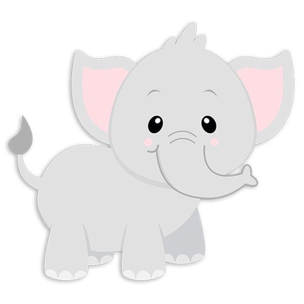 Vinilos Infantiles: Elefante Jumbo