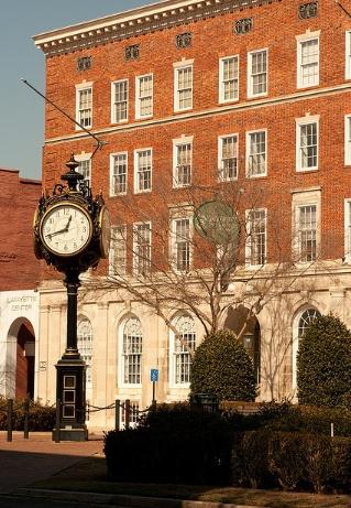 Historic District in Augusta, Georgia.