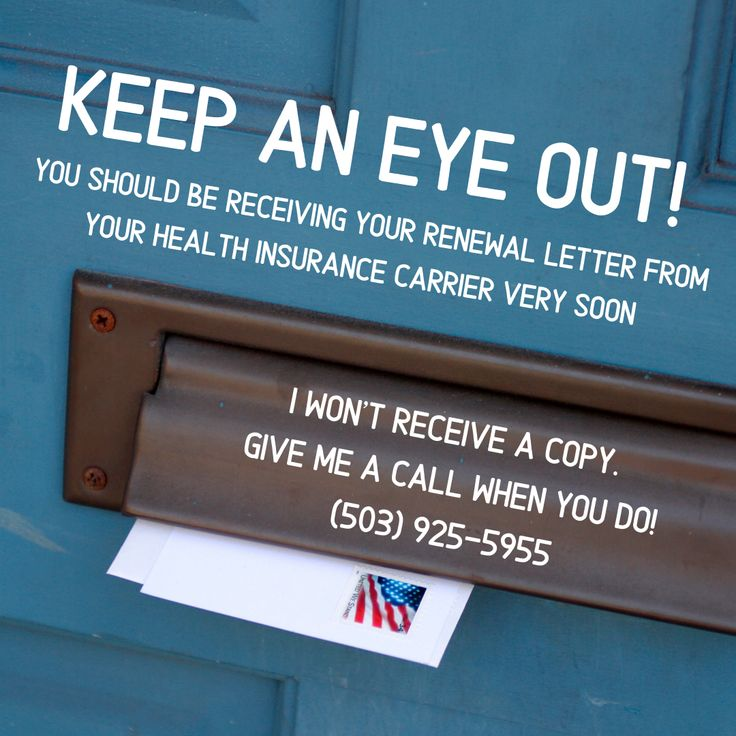 When you get your health insurance renewal information in ...