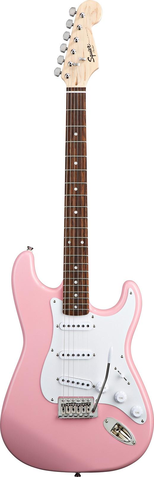 Squier Bullet Strat (Pink)   Sweetwater.com