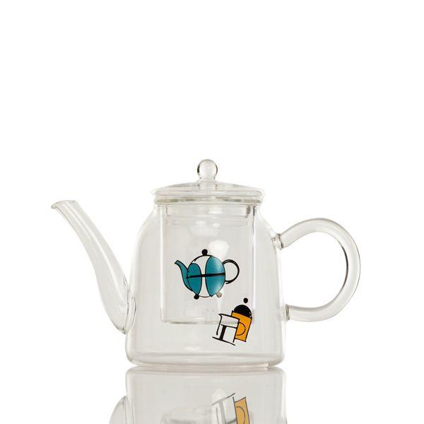 tasarımıyla çaya davet eden demlik