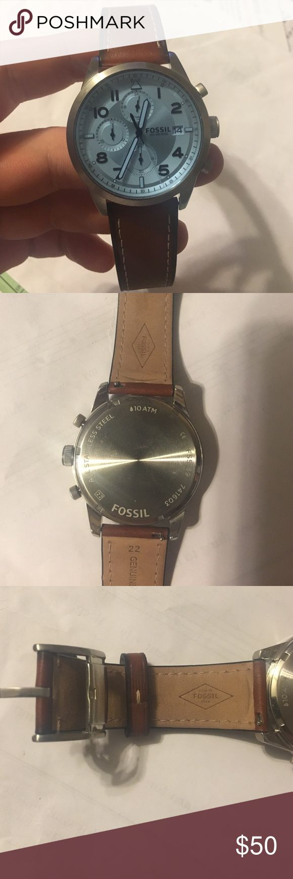 Selling this Fossil Watch on Poshmark! My username is: brycechambers21. #shopmycloset #poshmark #fashion #shopping #style #forsale #Fossil #Other
