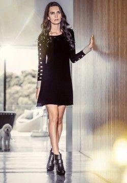 Katia Dress. Possum, Silk, Merino. Luxury limited edition knitwear. www.elkaknitwear.co.nz