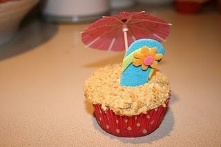 Luau Party Cupcakes birthday-cakes