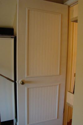 Ideas For Cabinet Doors easy cabinet door projects by my repurposed life Diy Beadboard Door Uses Wallpaper Paint And Cheap Trim To Dress Up A Plain
