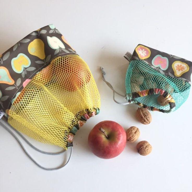 Tuto : coudre un sac à vrac zéro-déchet
