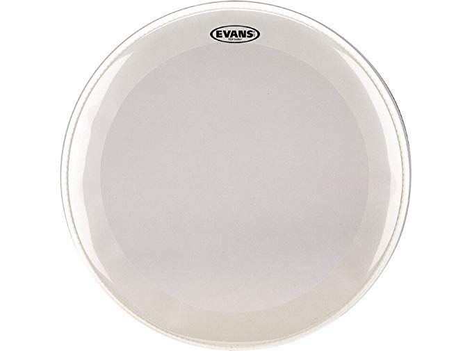 Evans EQ4 Frosted Bass Drum Head 22 Inch