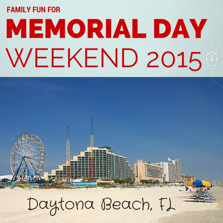 memorial day daytona beach