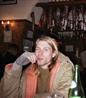 """""""Hey! Wait! I've got a new complaint! Forever in debt to your priceless advice."""" ― Kurt Cobain"""