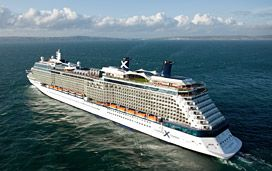 "The 2012 overall top rated cruise ship:  ""Celebrity Equinox"""