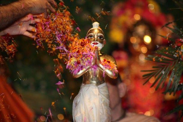 abhiseka Sri Advaita Acarya