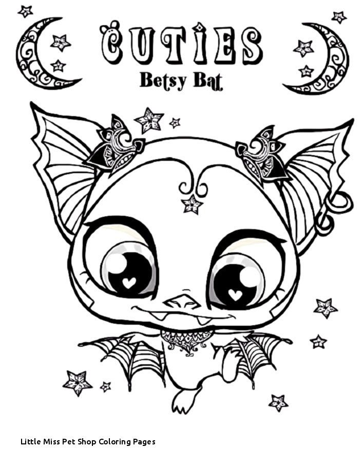 Little Miss Pet Shop Coloring Pages My Littlest Pet Shop Coloring Bat Coloring Pages Animal Coloring Pages Coloring Pages