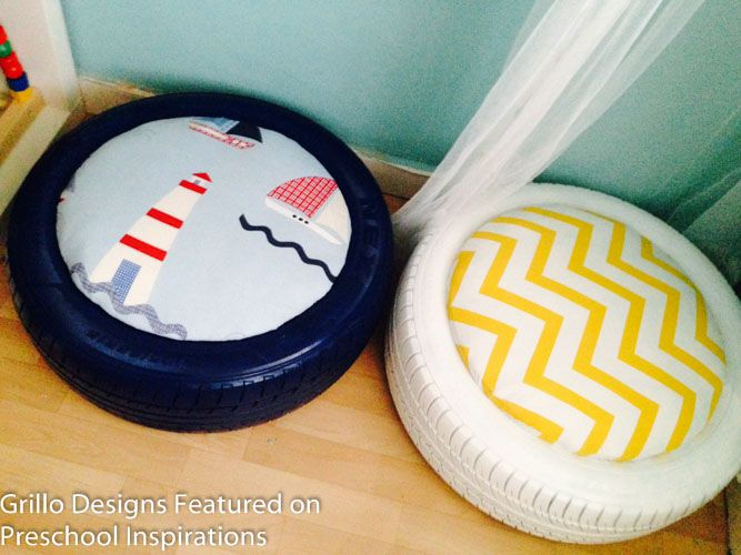 Cozy Corner with Tire Tutorial by Preschool Inspirations-4