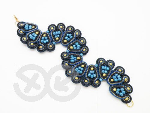 soutache bracelet on etsy
