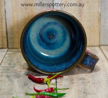 Australian handmade ceramic soup bowl / big mug by www.millerspottery.com