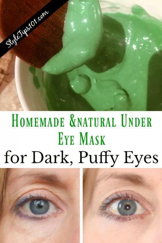Diy Under Eye Mask Homemadefacemasks Undereyesfiller
