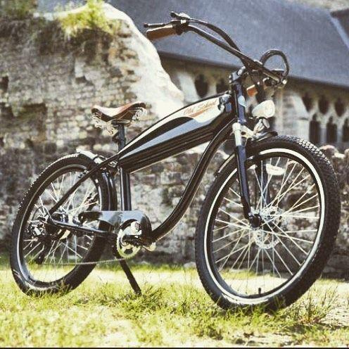 Instagram picutre by @wattitud: Notre gamme OldSchool est disponible en plusieurs coloris ! Venez les découvrir sur notre site internet www.wattitud.com et suivez notre actualité sur http://ift.tt/1Tq625I  #oldschool #style #vintage #retro #ebike #electricbike #custom #bike #velo #veloelectrique #belgique #france #biarritz #bordeaux #larochelle #marseille #cannes #sainttropez #nice #beach #surf #followme #like - Shop E-Bikes at ElectricBikeCity.com (Use coupon PINTEREST for 10% off!)