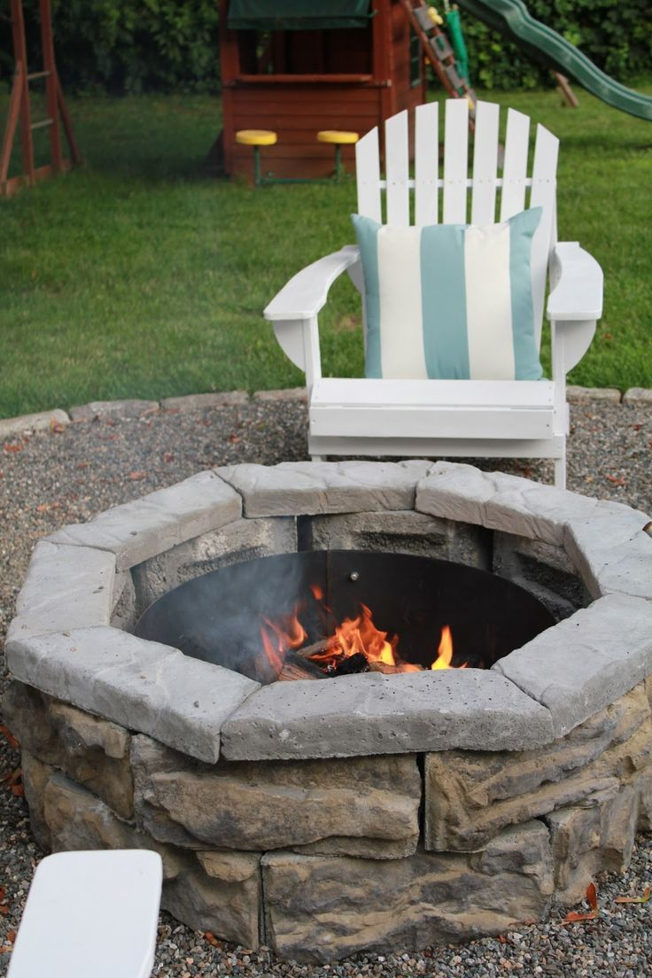 Gracie blue diy home depot fire pit diy pinterest - Fire pits for your home ...