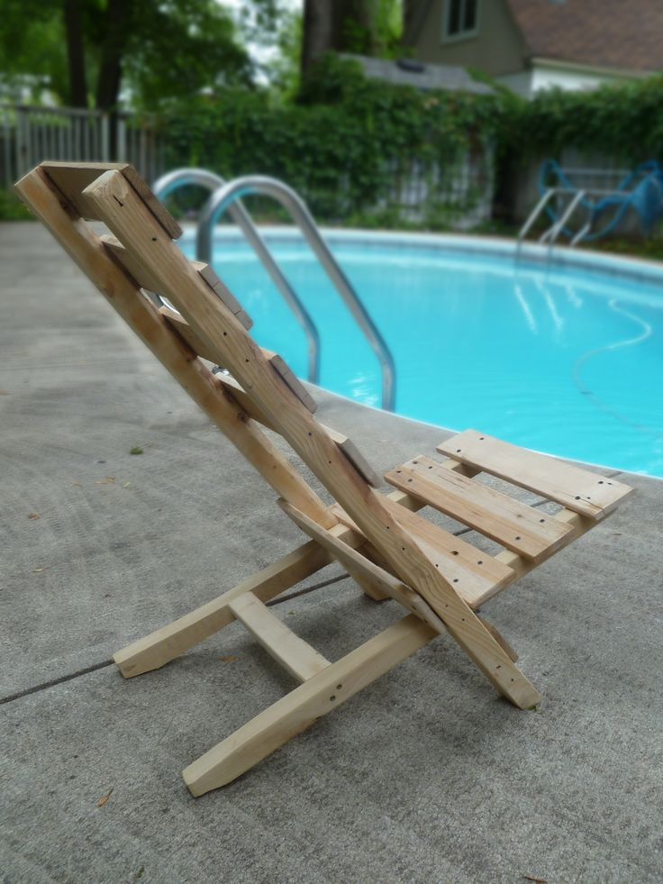 Pallet Lounge Chair Instructions Woodworking Projects