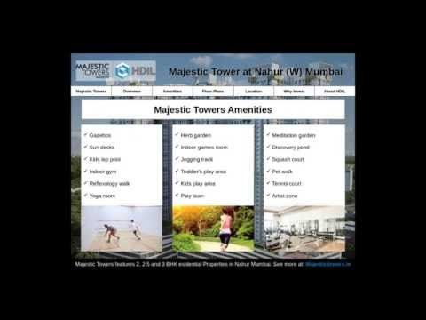 Majestic Towers - Luxurious Residential Projects in Nahur Mumbai